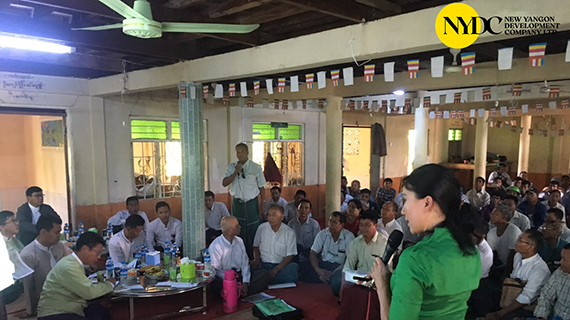 Stakeholder Meeting for Resettlement Area New Yangon City