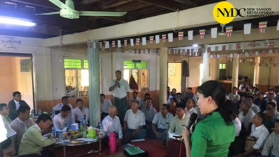 Stakeholder Meeting for Resettlement Area New Yangon City